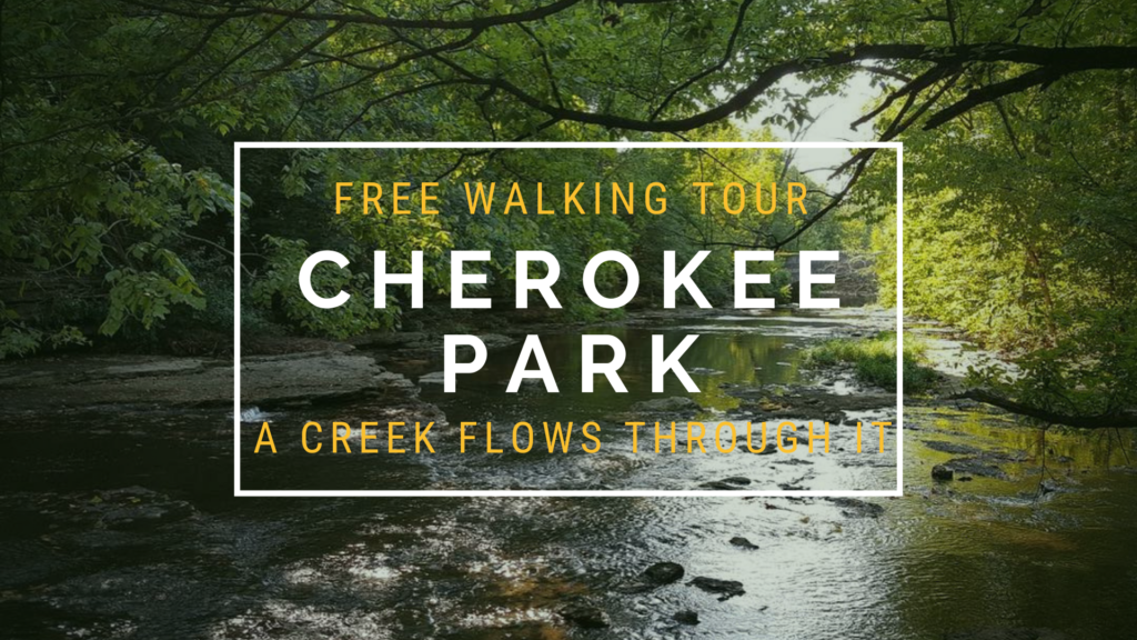 Free Walking Tour in Cherokee Park: A Creek Runs Through It